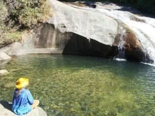 A cachoeira do Escorrega é a mais visitada de Visconde de Mauá