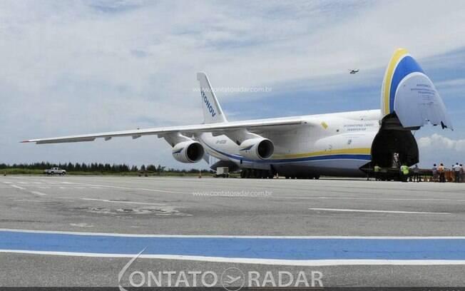 Segundo maior avião cargueiro do mundo voltará ao Brasil