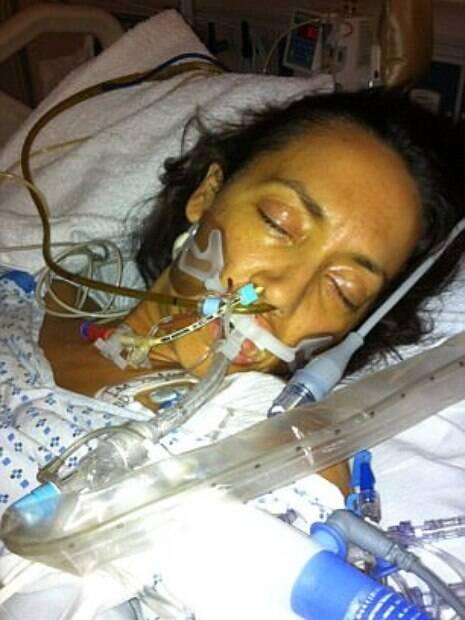 Enquanto estava em coma, Colleen conta que podia sentir quando seu marido, mãe ou pai estavam com ela