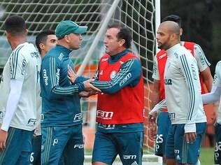 Felipe Melo se desentendeu com preparador físico durante treino 781cc5ce6b1f1