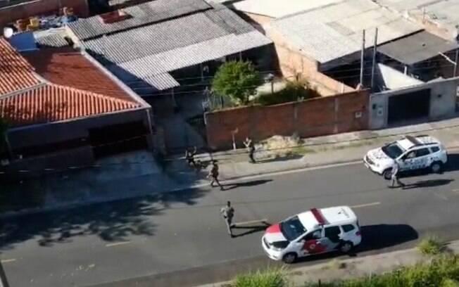 Trio é preso após assaltar loja em Campinas e tentar fugir