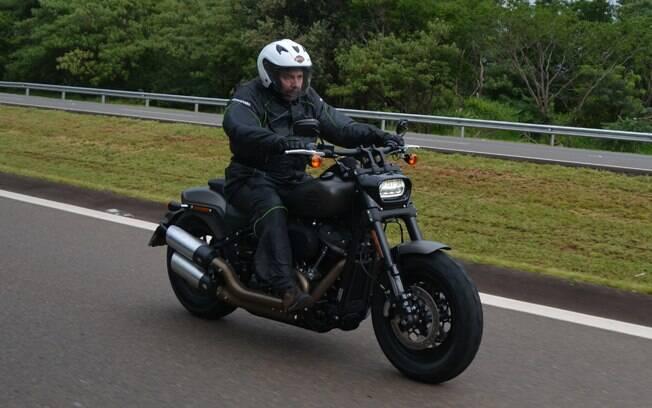 Esta é a Harley-Davidson Fat Bob 114, que também está disponível com o motor 107