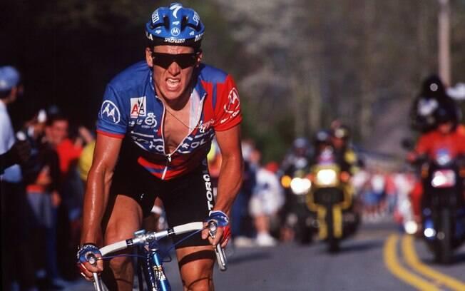 Lance começou no ciclismo aos 21 anos