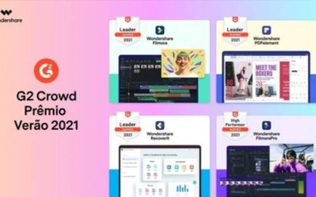 Wondershare Considerada Líder e Desenvolvedor de Alta Tecnologia nos Prémios de Verão do G2 Crowd de 2021