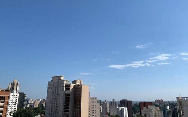 Sábado será de sol entre nuvens com máxima de 33°C