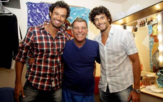 Fabio Bianchini, Jorge Fernando e Jesus Luz