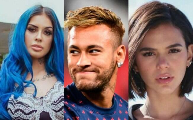 Tati Zaqui%2C Neymar e Bruna Marquezine