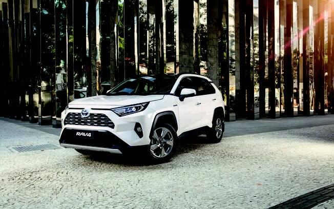 Toyota RAV4 branco
