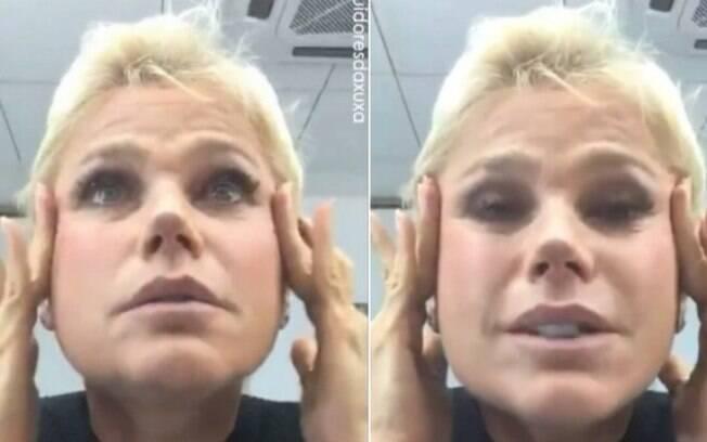 Xuxa desabafa no Instagram e pensa em fazer nova cirurgia plástica