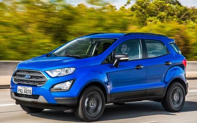 Ford EcoSport 1.5: com motor tricilíndrico, se destaca entre os SUVs pela economia de combustível