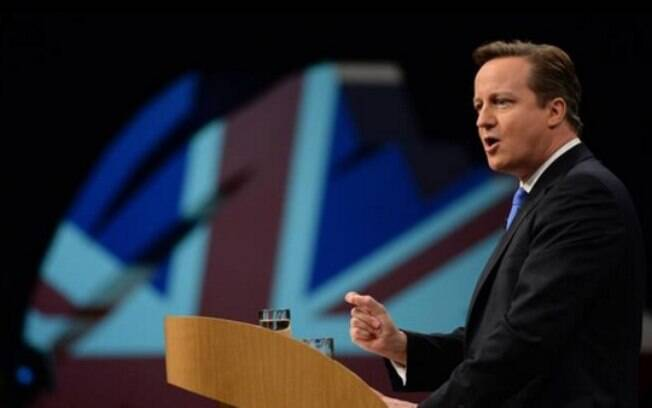 O primeiro-ministro David Cameron: acordo só se todas as demandas britânicas forem atendidas