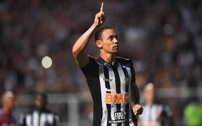 Ricardo Oliveira, atacante do Atlético-MG