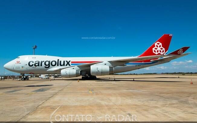 Cargolux realizará mais uma operação em Confins