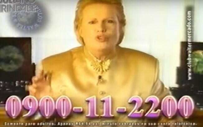 Walter Mercado marcou os anúncios de TV na década de 1990