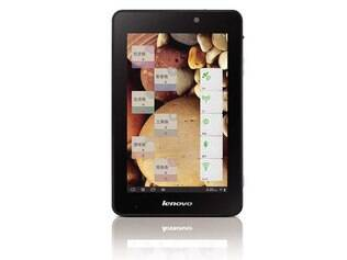 Tablet de 7 polegadas da Lenovo, o S2007