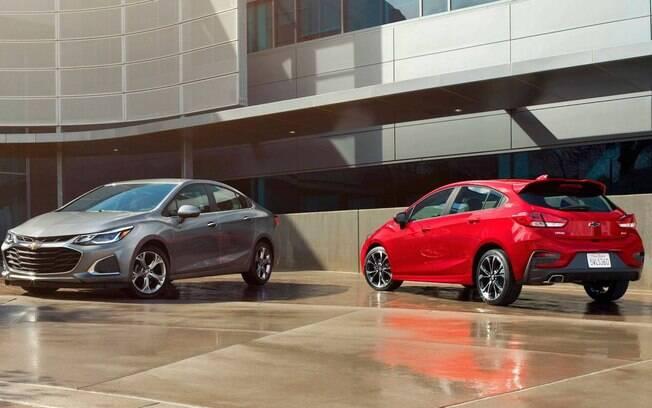 Novo Chevrolet Cruze chegará ao Brasil no segundo semestre com novo design e novas tecnologias