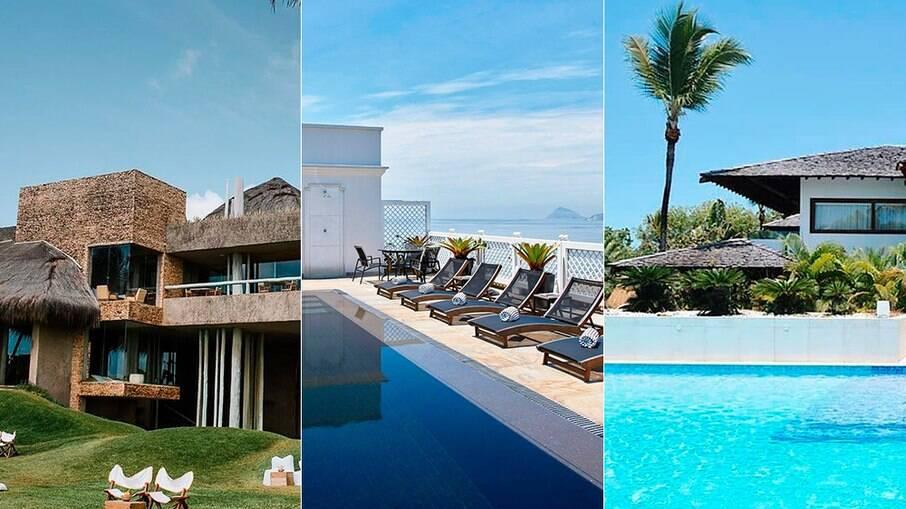 O Brasil tem poucos hotéis de luxo, e a maioria está à beira-mar