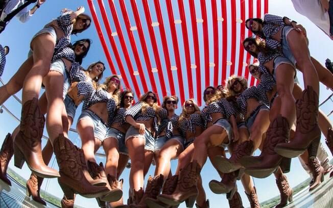 As grid girls que enfeitaram a etapa da  MotoGP em Austin (EUA)
