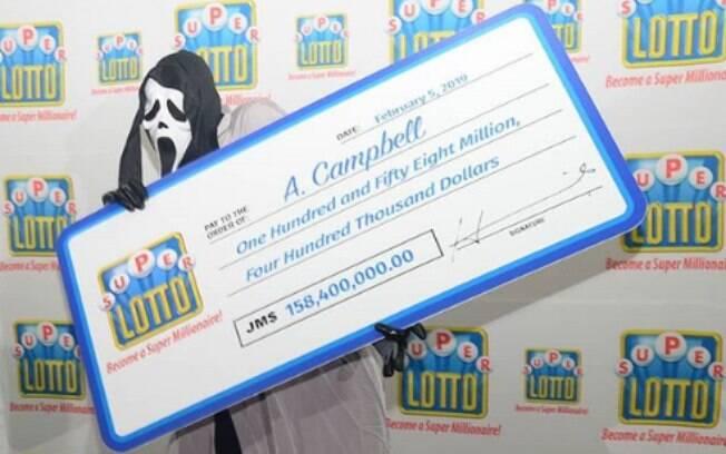 Motivo do disfarce do ganhador da loteria seria o medo da violência da qual poderia ser vítima com o dinheiro do prêmio