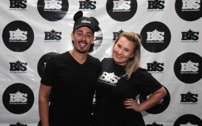 Carlinhos Maia e Priscila Triska, CEO da BIS Entertainment, responsável pela turnê