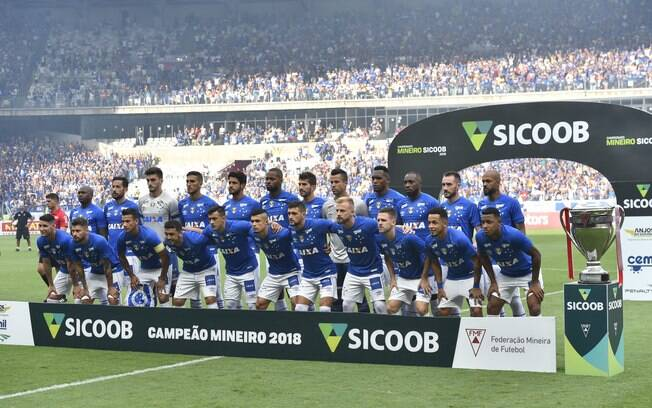 Time do Cruzeiro na final do Campeonato Mineiro de 2018