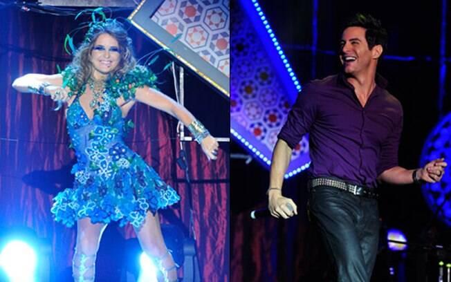 Cláudia Abreu e Ricardo Tozzi interpretam uma dupla de cantores brega na próxima novela das 19h
