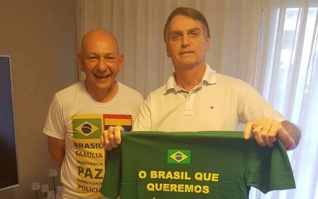 Empresário Luciano Hang, dono das lojas Havan, apoiou Bolsonaro e