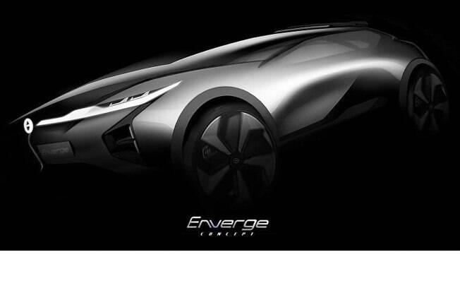 A GAC Motor apresentará no Salão de Detroit o SUV conceitual Enverge, que visa o público mais jovem