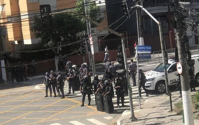 Confronto aconteceu na favela do Moinho, no centro da cidade.