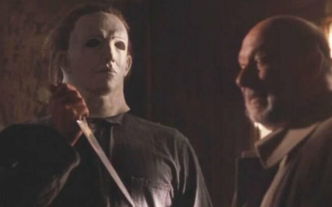 A máscara de Michael Myers para o quinto filme trouxe um ar mais humano