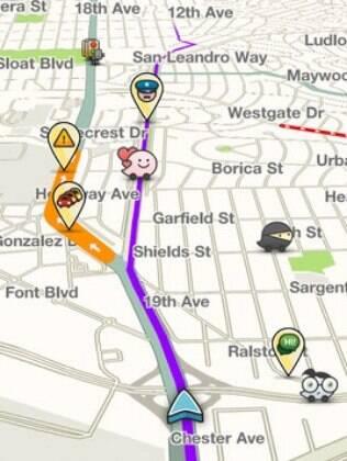 Aplicativo de mapas Waze permite criar perfil e informar vias congestionadas na cidade