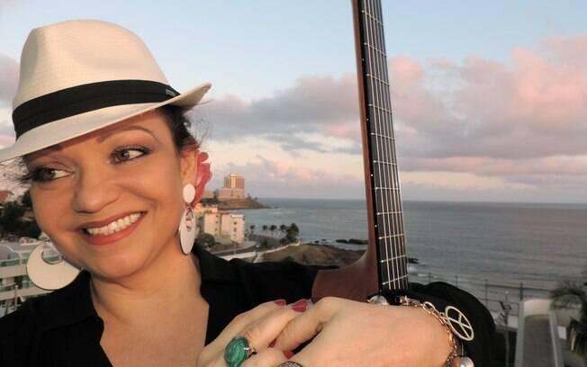 A cantora e irmã de Ivete Sangalo, Mônica San Galo
