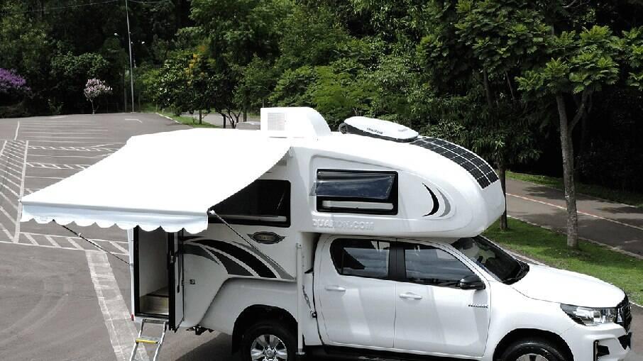 Empresa Duaron, localizada na cidade de Rio do Sul (SC), oferece inúmeras opções de Camper.