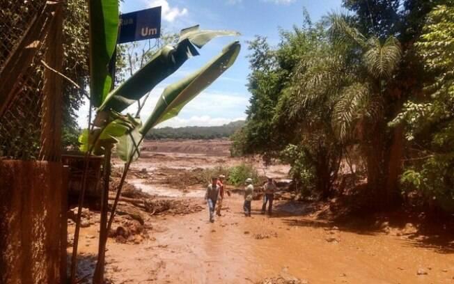 Barragem da mineradora Vale se rompeu em Brumadinho (MG)