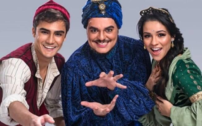 Gênio%2C Aladdin e Jasmine