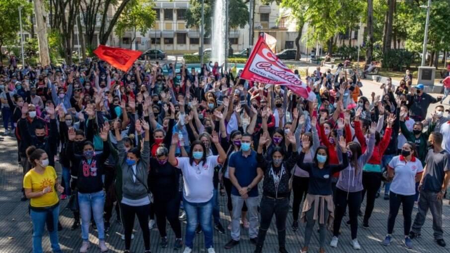Votação que aprovou acordo de indenização às trabalhadoras das montadoras da LG