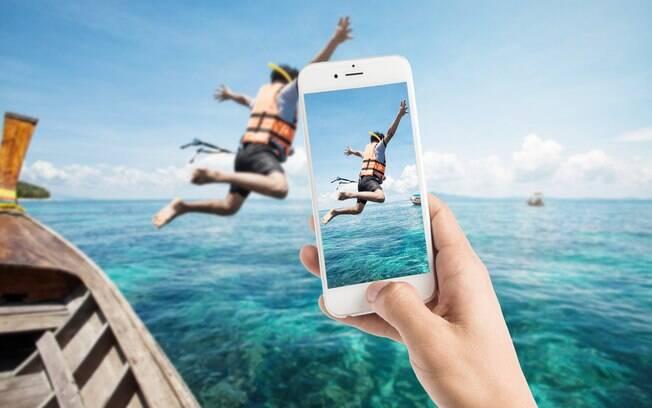 Pesquisa feita com viajantes brasileiros mostra que, para 41,4%, as fotos do Instagram são essenciais na decisão da viagem