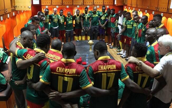 Camarões foi campeão da CAN 2017 e nesta edição tem sofrido com os reflexos da corrupção e falta de dinheiro