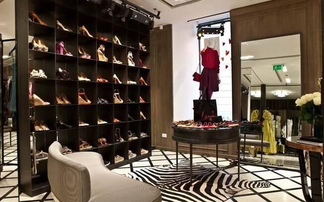 a72f6b5c6aa O projeto da loja de 91 m² da Lanvin no Brasil segue o conceito das demais