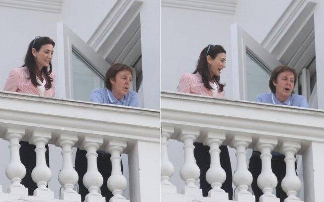 Paul McCartney e Nancy Shevell em visita ao Rio de Janeiro