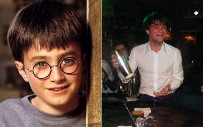 Antes e depois: Daniel Radcliffe no filme