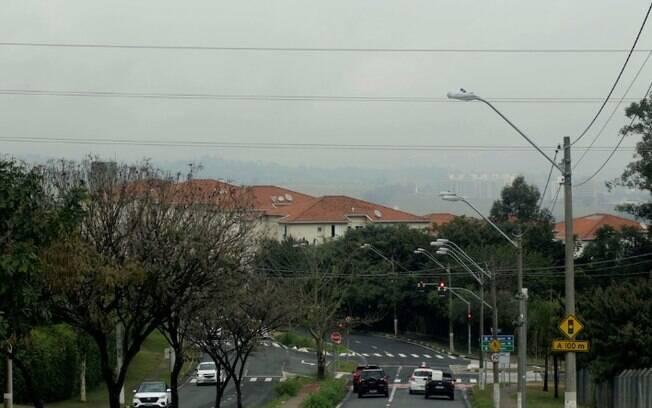 Sábado será de tempo nublado com chances de chuva em Campinas