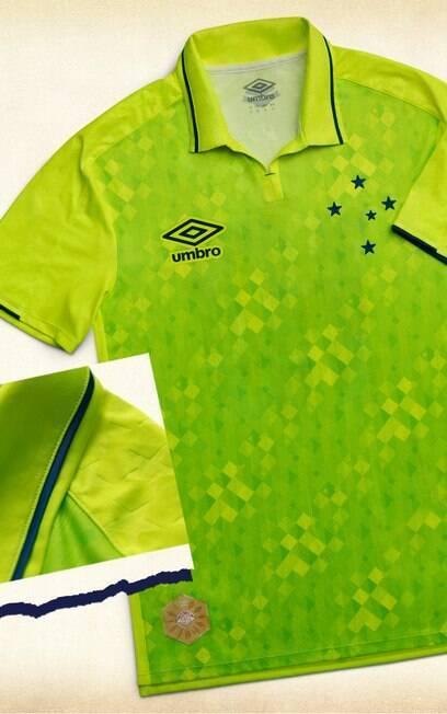 A nova camisa do Cruzeiro