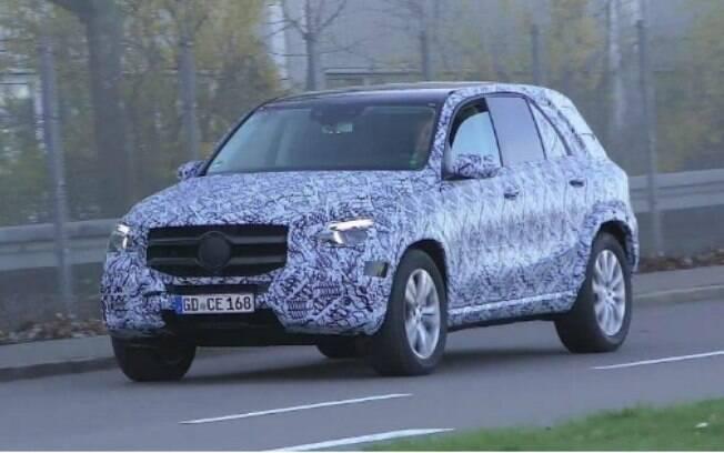 A Mercedes-Benz  vem fazendo testes de rua na Alemanha com o novo SUV GLE-Class, que deve chegar em 2019