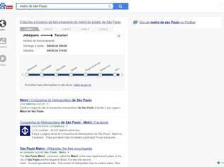 Baidu estreou ferramenta de busca no Brasil