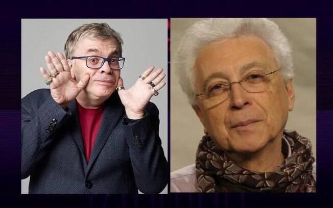 Walcyr Carrasco e Aguinaldo Silva