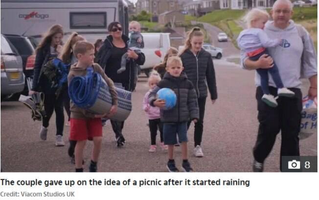 Família adota uma rotina disciplinada para dar conta dos 11 filhos