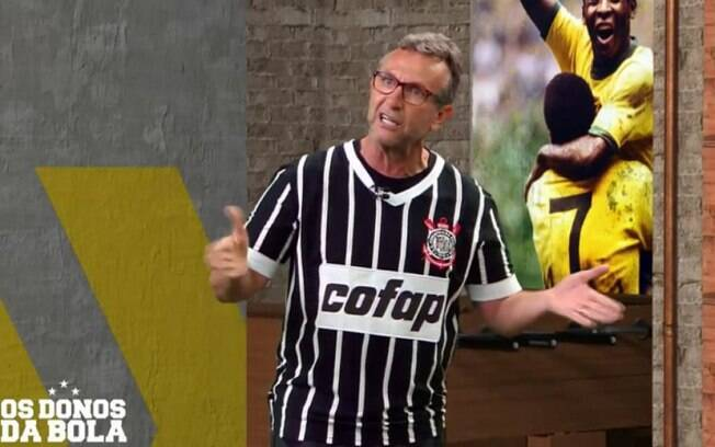 Neto perde a cabeça após derrota e xinga dirigentes do Corinthians: 'Vai para casa do c...!'