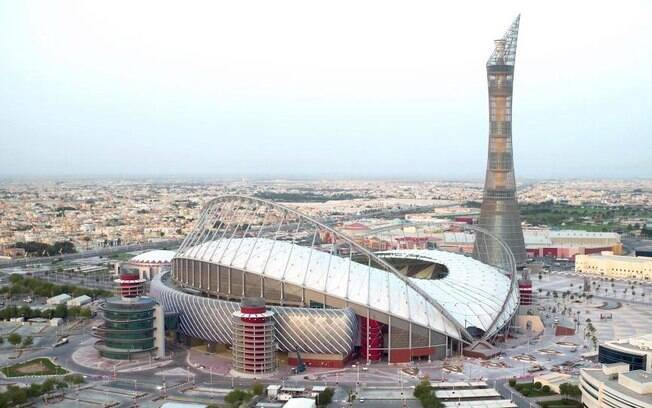 Estádio Khalifa Internacional é o primeiro do Mundial do Catar 2022 a ser concluído