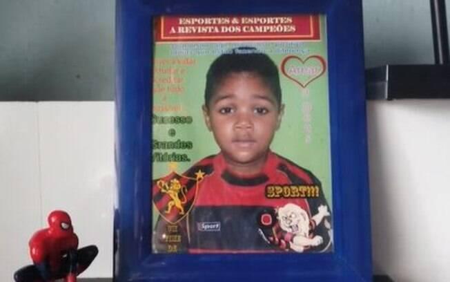 Miguel tinha cinco anos